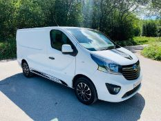 2018/18 REG VAUXHALL VIVARO L1H1 2700 SPORTIVE CDTI 1.6 PANEL VAN 120 BHP, SHOWING 0 FORMER KEEPERS