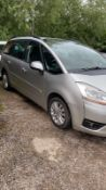 2009/09 REG CITROEN C4 HDI VTR PLUS GRAND PICASSO 7 SEATER 1.6 SILVER MANUAL MPV 110HP *NO VAT*