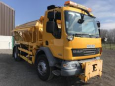 2010/60 REG DAF TRUCKS LF FA 55.220 18 TON GRITTER EX COUNCIL ECON BODY SPREADER MANUAL GEARBOX