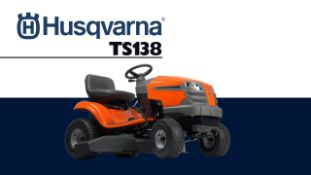 2020 BRAND NEW HUSQVARNA TC138 ROTARY RIDE ON LAWN MOWER (SIDE DISCHARGE) NO COLLECTOR *PLUS VAT*
