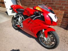 DUCATI 749S MOTORBIKE / MOTORCYCLE *NO VAT*