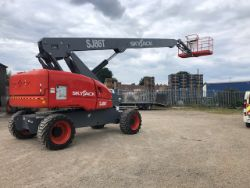 2019 CHERRY PICKER SJ86T ACCESS PLATFORM MEWP! 4x4 AUCTION! LAND ROVER DEFENDER'S, DISCOVERY SPORT, CATERING TRAILER, ASTON MARTIN, 7PM SUNDAY!