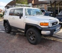 2007 57 reg - Such a rare car - The stunning Toyota FJ Cruiser 4.0 V6 Automatic 4x4, LEFT HAND DRIVE