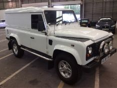 2008/08 REG LAND ROVER 110 DEFENDER DCB HARD TOP LWB 2.4 DIESEL, SHOWING 2 FORMER KEEPERS *NO VAT*