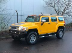 2007 HUMMER H3 3.5 LEFT HAND DRIVE YELLOW MODIFIED LHD *NO VAT*