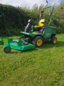 JOHN DEERE 1435 4WD RIDE ON LAWN MOWER, 4000 HOURS, FULL WORKING ORDER, RUNS DRIVES & MOWS AS SHOULD