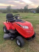 MOUNTFIELD 1538 SD RIDE ON LAWN MOWER, RUNS, DRIVES AND CUTS, EX DEMO CONDITION *NO VAT*