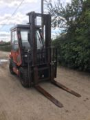 TOYOTA 30 FORKLIFT, RUNS, DRIVES AND LIFTS *PLUS VAT*