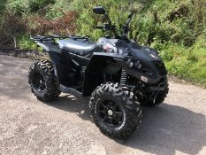 GREAT CONDITION QUADZILLA RS8 750CC BLACK QUADBIKE - ROAD REGISTERED, YEAR 2012, FRONT WINCH