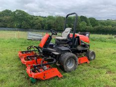 RANSOMES JACOBSEN AR250 KUBOTA 42HP TURBO DIESEL 5 GANG ROTARY WIDE AREA MOWER *PLUS VAT*
