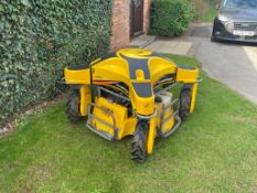 RANSOMES SPIDER BANK MOWER, KAWASAKI ENGINE, FULL RADIO CONTROL, FULL WORKING CONDITION *PLUS VAT*