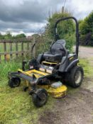 "GREAT DANE CHARIOT ZERO TURN 60"" RIDE ON ROTARY MOWER PETROL KAWASAKI ENGINE *PLUS VAT*"
