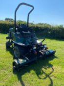 2009/09 REG HAYTER LT 324 RIDE ON LAWNMOWER, 4 WHEEL DRIVE, HYDRO-STATIC DRIVE *PLUS VAT*