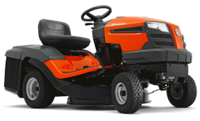 MC - 2020 BRAND NEW HUSQVARNA TC130 ROTARY RIDE ON LAWN MOWER (REAR DISCHARGE) C/W COLLECTOR *PLUS