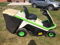 2015 ETESIA HYDRO 80 RIDE ON LAWN MOWER, RUNS, DRIVES AND CUTS *NO VAT*