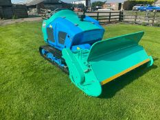 RIDE ON TRACKED BANK FLAIL MOWER, BARONESS HM1560K, YEAR 2017, ONLY 93 HOURS *PLUS VAT*