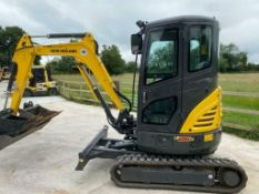 NEW HOLLAND E26C MINI DIGGER, YEAR 2020, 2.6 TON, ONLY 26 HOURS, COMPLETE WITH 3 BUCKETS *PLUS VAT*