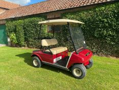 CLUB CAR GOLF BUGGY, 1 OWNER FROM NEW, PETROL, ALUMINIUM CHASSIS *PLUS VAT*