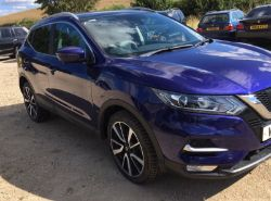 2017 NISSAN QASHQAI TEKNA DIG-T 1.6 PETROL, BRAND NEW BATESON TRAILER, VAUXHALL CORSA, ASTRA, MOWERS, FORKLIFT, BACKHOE, ENDS FROM 7PM THURSDAY!