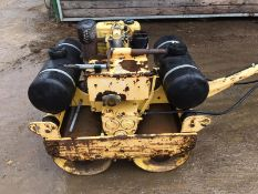BOMAG 65S HAND GUIDED VIBRATING ROLLER, RUNS, WORKS AND VIBRATES *PLUS VAT*