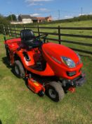 KUBOTA GR1600-II DIESEL RIDE ON LAWN MOWER, RUNS, DRIVES AND CUTS, EX DEMO CONDITION, ONLY 66 HOURS!