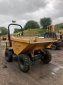 2018 MECALAC TA3 DUMPER, RUNS, DRIVES AND DUMPS, SHOWING 655 HOURS *PLUS VAT*