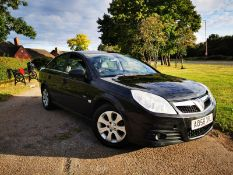 2009/58 REG VAUXHALL VECTRA EXCLUSIVE CDTI 150 AUTOMATIC BLACK 5 DOOR HATCHBACK *NO VAT*