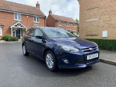 2013/13 REG FORD FOCUS TITANIUM 1.6 PETROL AUTO ESTATE, SHOWING 2 FORMER KEEPERS *NO VAT*