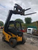 2010 JCB 30D TELETRUCK, RUNS, DRIVES AND LIFTS, ROTATING FORK BODY *PLUS VAT*