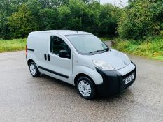 2008/58 REG CITROEN NEMO LX HDI 610 1.4 DIESEL GREY PANEL VAN, SHOWING 2 FORMER KEEPERS *NO VAT*