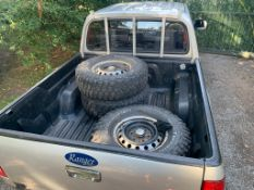 4 X BF GOODRICH ALL TERRAIN TYRES ON FORD RANGER 2007 WHEELS, 265 X 75 R16 *NO VAT*
