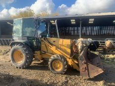 FORD NEW HOLLAND 655 TURBO DIESEL TRACTOR FULL GLASS CAB, C/W LOADER, YEAR 1994 *PLUS VAT*