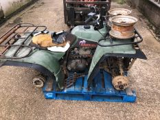 TIMBERWOLF QUAD BIKE, SELLING AS SPARES / REPAIRS - NO RESERVE *NO VAT*