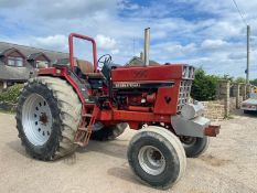 CASE INTERNATIONAL 1085 PULLING TRACTOR, RUNS AND WORKS *PLUS VAT*