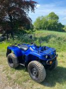 YAMAHA GRIZZLY 4 WHEEL DRIVE FARM QUAD, 188 HOURS, YEAR 2013, ROAD REGISTERED, AUTOMATIC *PLUS VAT*