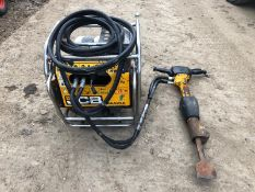JCB HYDRAULIC BEAVER PACK, RUNS AND WORKS, COMES WITH BREAKER CHISEL AND HOSE *NO VAT*