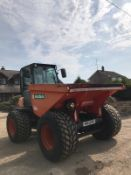 2012 AUSA 7 TON DUMPER, CABBED, AIR CONDITIONING, RUNS, DRIVES AND TIPS, ROAD REGISTERED *PLUS VAT*