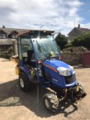 2011 ISEKI TXG 237 TRACTOR RUNS AND DRIVES C/W SALT SPREADER *PLUS VAT*
