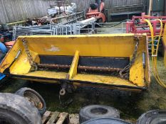 BUNCE EPOKE TMK 10L DROP GRITTER, SPREADER TRAILER *PLUS VAT*