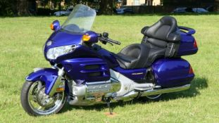 HONDA GL1800 GOLDWING ABS 2003 MOTORCYCLE 51K MILES - EXTRAS, MOT, LOW MILES, FSH, GREAT CONDITION