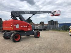 CHERRY PICKER SJ86T ACCESS PLATFORM MEWP, ONLY 260 HOURS FROM NEW, BUILT IN 2018 BUT A 2019 MODEL