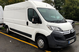 2014/64 REG CITROEN RELAY ENTERPRISE 35 L3H2 ENTERPRISE 2.2 DIESEL VAN, SHOWING 0 FORMER KEEPERS