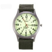 NEW & UNUSED SOKI FASHION QUARTZ LUMINOUS MILITARY INFANTRY ARMY STYLE MENS WRIST WATCH *PLUS VAT*