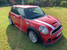 2012/12 REG MINI COOPER SD 2.0 DIESEL RED 3 DOOR HATCHBACK, SHOWING 2 FORMER KEEPERS *NO VAT*
