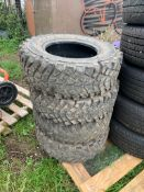 4 X TECHNIC 4X4 OFF ROAD TYRES - 235/75 R15 (105) *NO VAT*