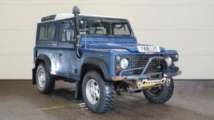 2001/Y REG LAND ROVER DEFENDER 90 TD5 2.5 DIESEL BLUE LIGHT 4X4 UTILITY *NO VAT*