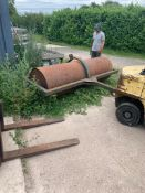 10FT FLAT ROLL ROLLER WITH WATER BALLAST *PLUS VAT*