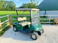 EZGO GOLF BUGGY, ELECTRIC, YEAR 2009, COMPLETE WITH ONBOARD CHARGER *PLUS VAT*
