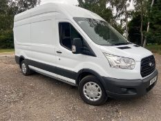 2015/65 REG FORD TRANSIT 350 2.2 DIESEL WORKSHOP 110V & 240V PANEL VAN, SHOWING 0 FORMER KEEPERS