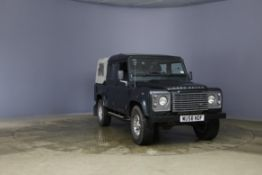 2008/58 REG LAND ROVER DEFENDER 110 XS DC LWB 2.4 DIESEL GREEN LIGHT 4X4, SHOWING 2 FORMER KEEPERS